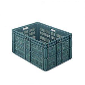 Euronorm stapelkrat 800 x 600 x 412 mm 160 liter