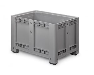 Palletbox 1200 x 800 x 760 mm op 4 poten