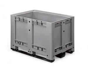 Palletbox 1200 x 800 x 780 mm op 3 sleeplatten